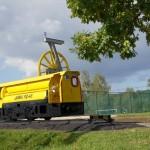 Wagonik upamiętniający szyb KWK 1 Maja