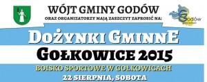plakat dozynki gminne